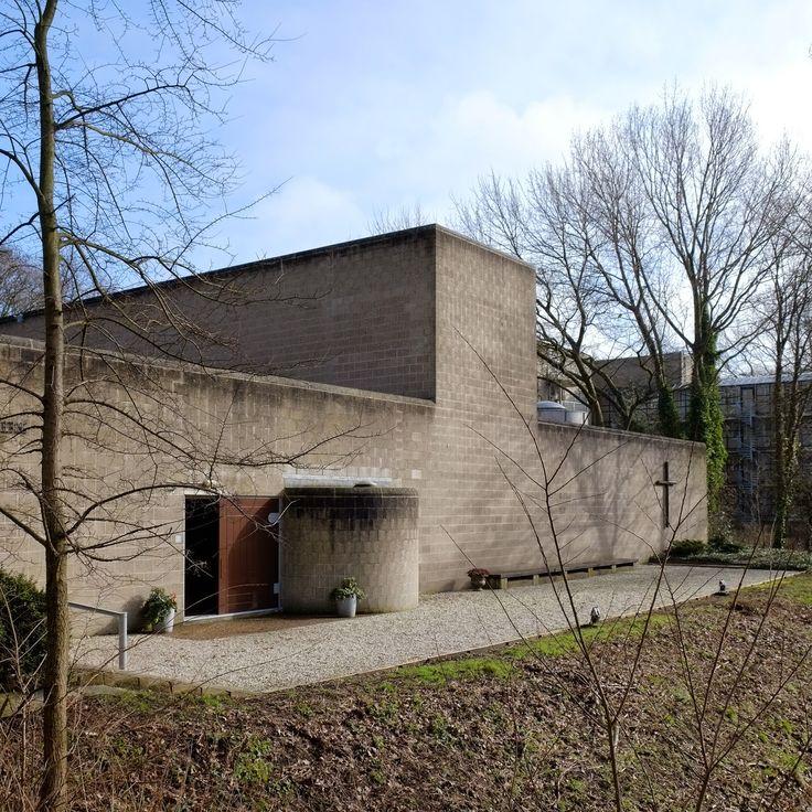 Pastoor van Ars Church The Hague. The Netherlands. 1969 Architect: Aldo Van Eyck