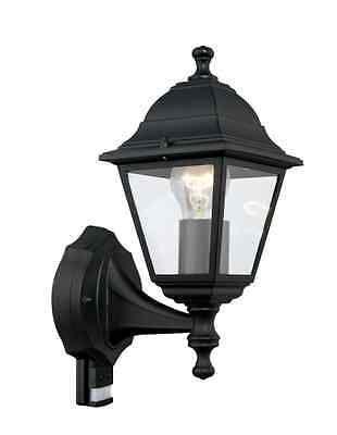 Aussenleuchte mit Bewegungsmelder  Aussenlampe schwarz Eglo 31317 2