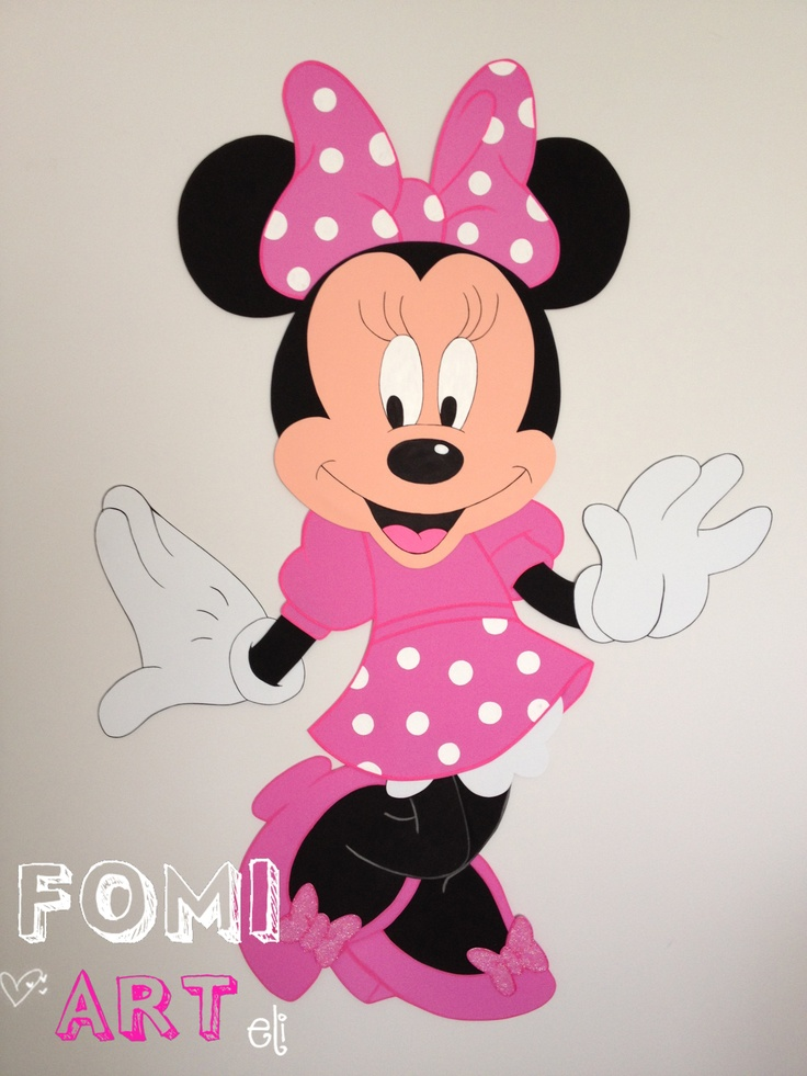 17 best images about foami on pinterest painel - Manualidades minnie mouse ...