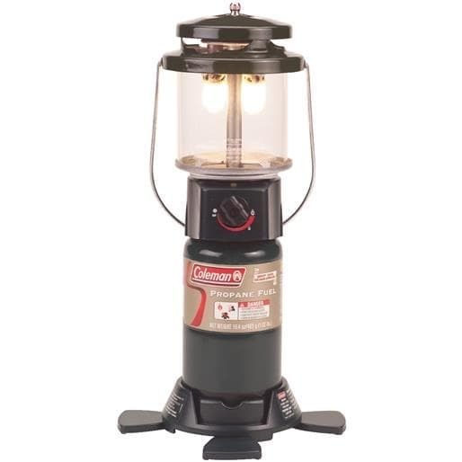 Coleman 12 Propane Lantern/Case 2000011525 Unit: Each, Black