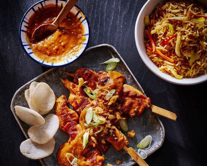 Sate Ayam - Indonesische Kipsaté