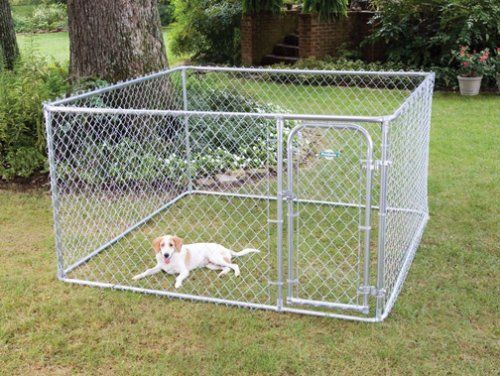 $274.66-$219.99 The PetSafe Do-It-Yourself Box Kennel is a complete full size chain link dog kennel. All materials are included for easy DIY assembly with common had tools. The quick connect design allows for simple frame assembly. For small and meduim pets.
