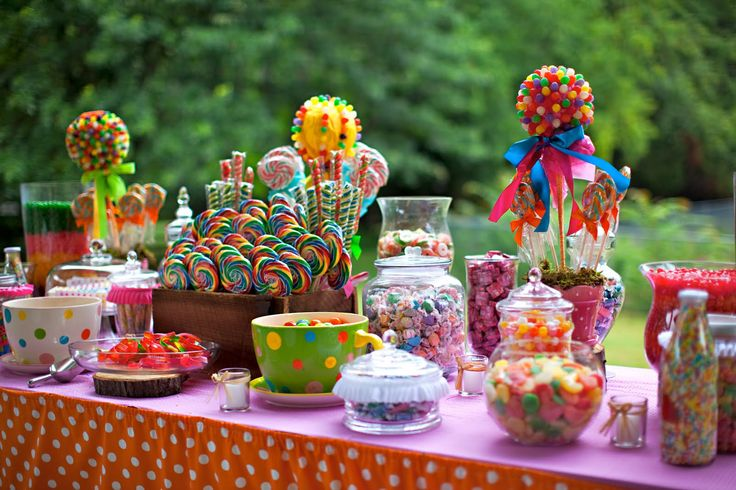 candy party theme | Chic Creations Events: Baby Shower Theme: Candy Land