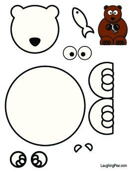 Coloring & Cutouts Set #2 - This one has a cartoon Bear, Kangaroo, Goat, Penguin, and Squirrel.