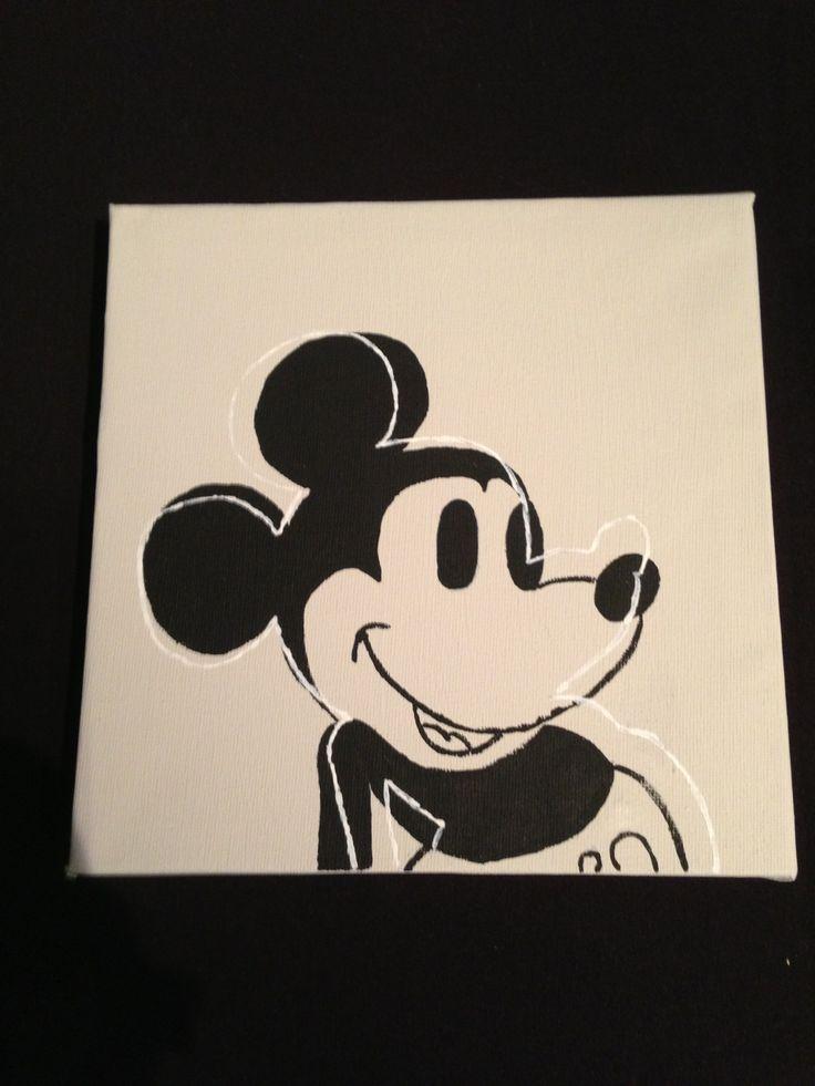 Simpel schilderij maken knutsel idee pinterest - Idee schilderij living ...