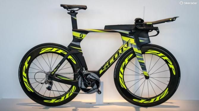 This Scott Plasma 5 is property of Ironman World Champion Sebastian Kienle