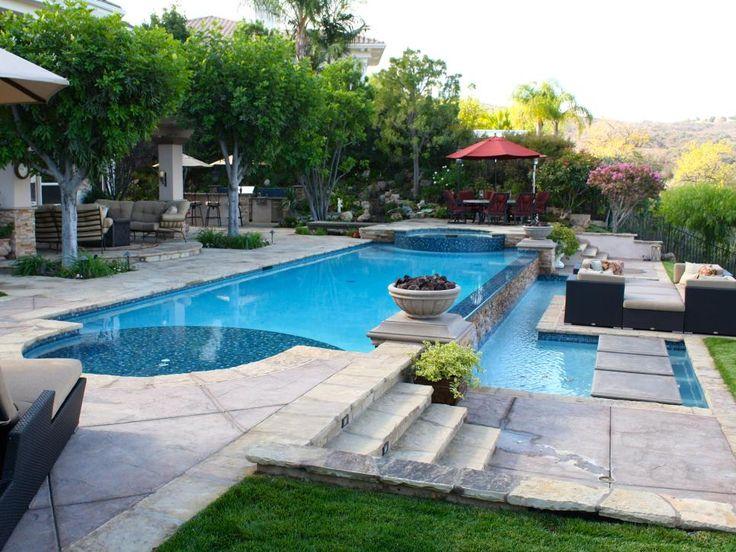 Designer Scott Cohen Of The Green Scene Varies The Flooring Materials Of  This Backyard Patio To