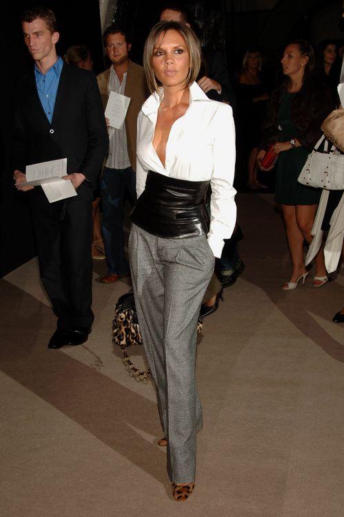 Victoria Beckham défilé Marc Jacobs septembre 2006