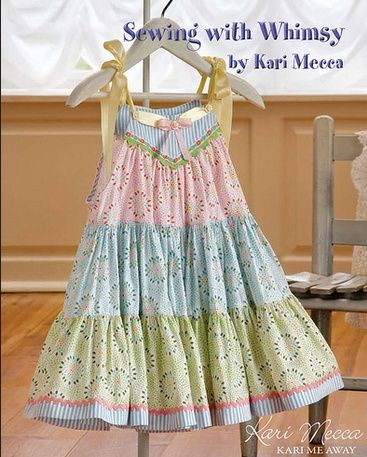 """""""Spring Fling"""" from Kari Mecca's Sewing with Whimsy book"""
