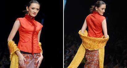 JFW 2012: Josephine Komara Werratie (Obin) #kebaya #batik