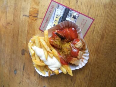All about the Wurst: Currywurst #gogermany about.com
