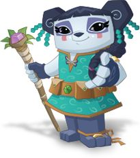 Meet Liza, the panda alpha! She is ruler of Jamma, and ...
