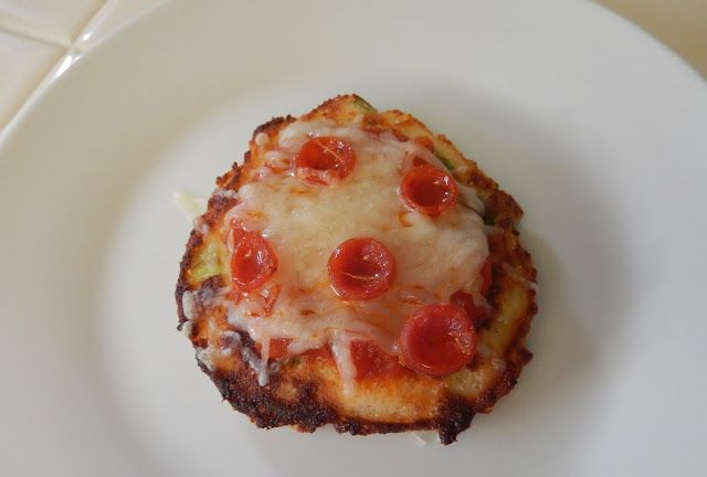 Eggface Healthy Italian Recipes: Savory Ricotta Pancake Pizzas
