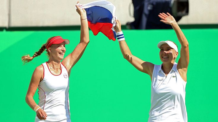 Russian women claim tennis doubles gold at Rio Games — RT Sport