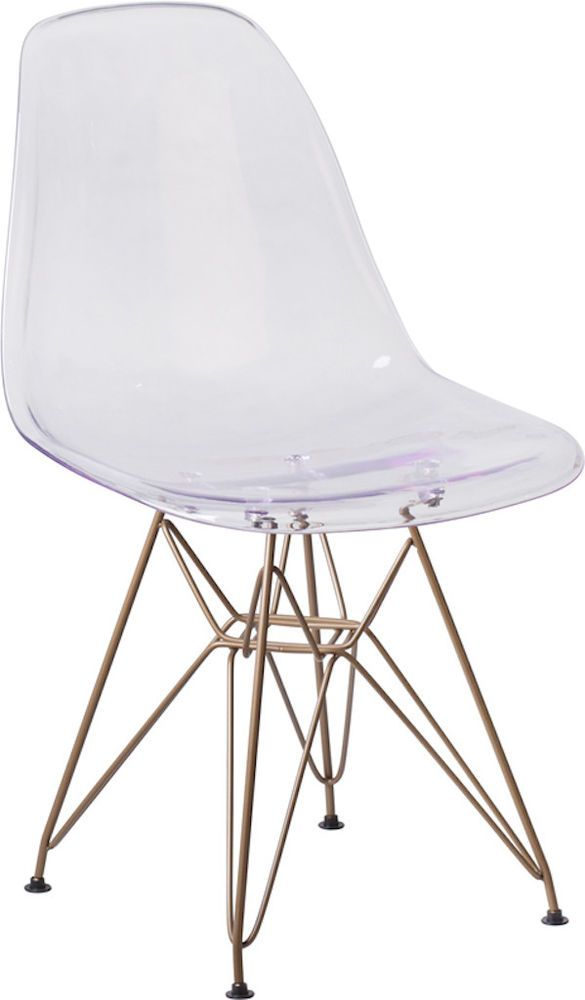 The Ghost Collection Of Side Chairs Feature A Transparent Crystal Finish  Designed For A Modern Appeal. Buy This Accent Chair For Your Apartment  Space, ...