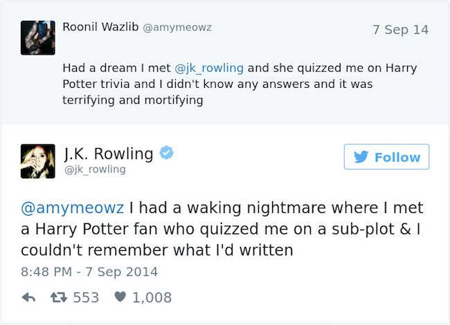 Don T Even Try To Mess With J K Rowling On Twitter Harry Potter Universal Harry Potter Obsession Harry Potter Fandom