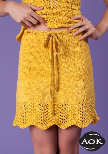 On the knitting needles soon!!  But not in yellow :)