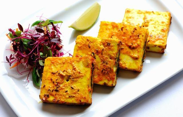Diwali indian recipeIndian Recipes, Indian Cuisine, British Chefs, Paneer Recipe, Bharwan Grilled, Indian Food, Garam Masala, Bharwan Paneer, Grilled Paneer