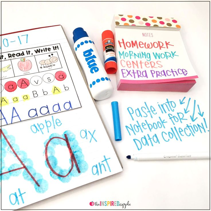 This intervention curriculum is the perfect program to implement with students who struggle with letter identification. Teachers love this Common Core Standards-based program that focuses on letter identification and recognition in a simple, easy-to-follow format that has proven itself through student success. There are several activities for each letter of the alphabet, with picture samples for easy reference. It's easily stored in a binder to keep your small group time organized and efficient.