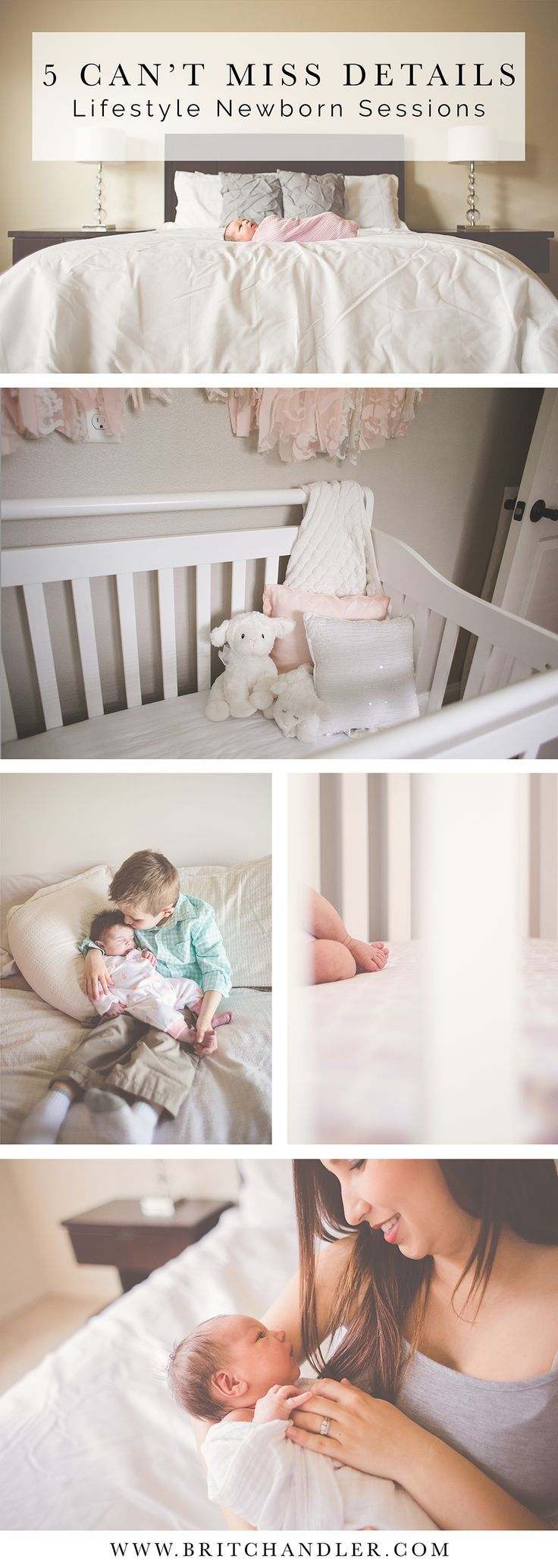 5 Can't Miss Details for Lifestyle Newborn Sessions. Tips, tutorials, posing for lifestyle photography.:
