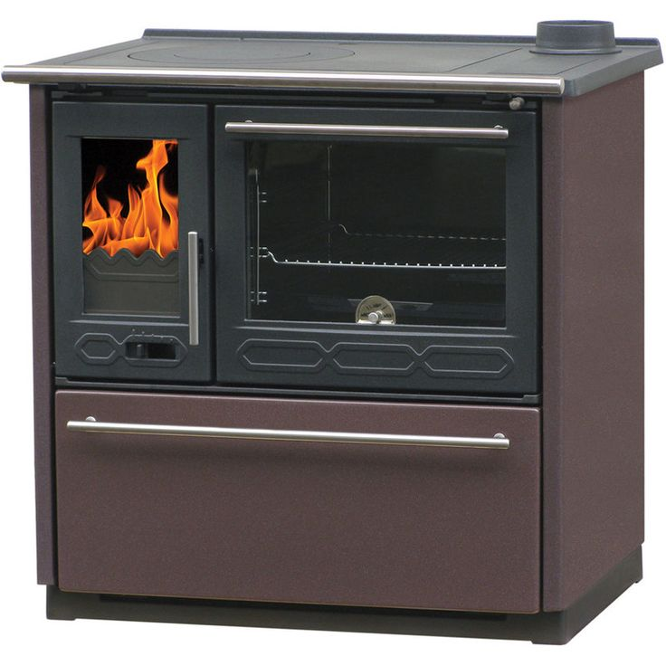 OPTIMO Cuisinière à bois AVENIO H 15kW bouilleur hydro - MHCPBCOPTAVEIH - Plomberie sanitaire chauffage