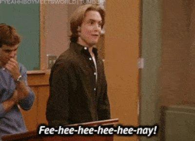 """Eric Matthews' Best 28 Lines On """"Boy Meets World"""""""