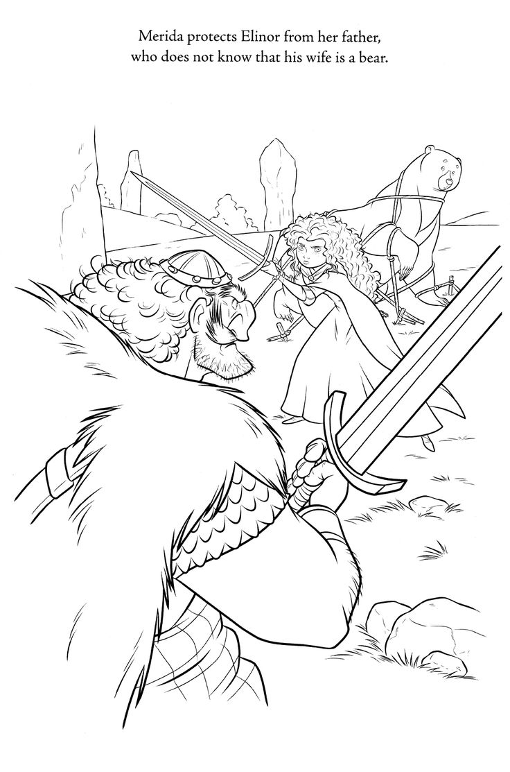 brave coloring page 75 is a coloring page from brave coloring booklet your children express their imagination when they color the brave coloring page they