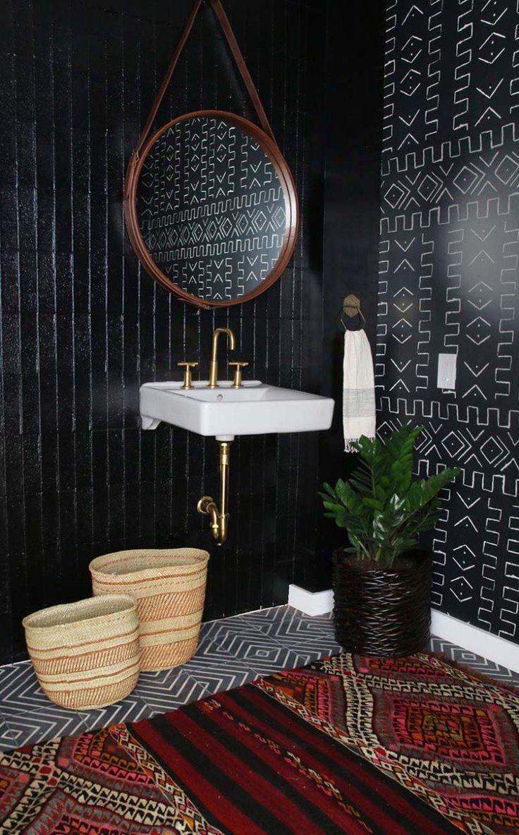 4 dicas de como decorar um banheiro preto