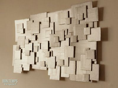 find this pin and more on cardboard diy wall art u0026 sculpture by