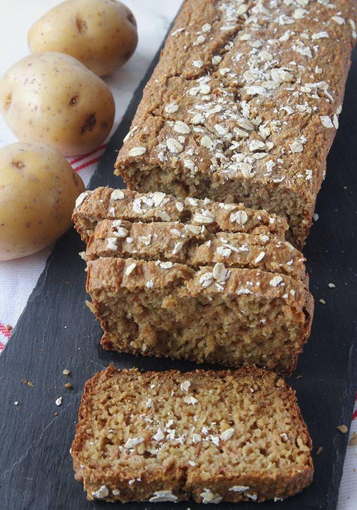 Nyttig potatislimpa utan vetemjöl | Tidningen Hembakat
