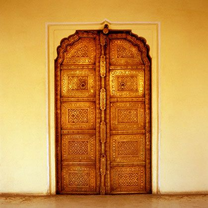 Order Gold Indian Door Wallpaper to create fantastic wall decor in your living space or browse thousands of other wallpapers at Print A Wallpaper. & 81 best India - Wallpaper Designs images on Pinterest | Living ...