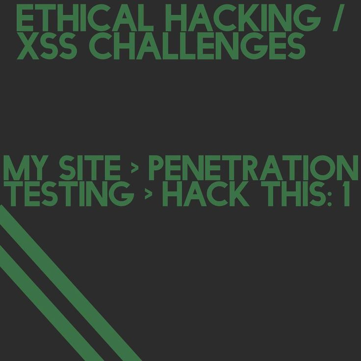 Want to practice Cross Site Scripting? Visit my site and navigate (use the navigation button) to Penetration Testing and select the first challenge. Link in bio.  @AppLetstag #hacking #hacker #security #website #design #webdesign #site #wordpress #html #webdevelopment #launch #php #javascript #mysql #developer #webdeveloper #webdev #jquery #html5 #code #js #programmer #sql #sqli #xss #ceh #pentest #hackthis #rfi #websecurity