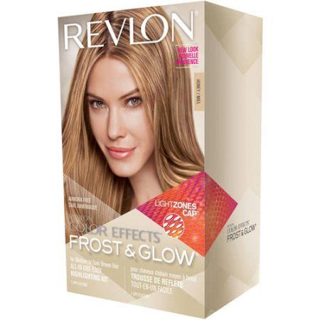 Revlon Color Effects Frost & Glow Hair Highlighting Kit, Honey, Yellow