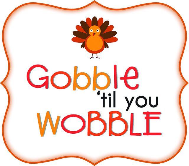 Gobble til you wobble | Paper Crafts magazine