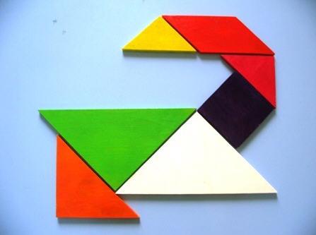 Un' anatra con i tan multicolori