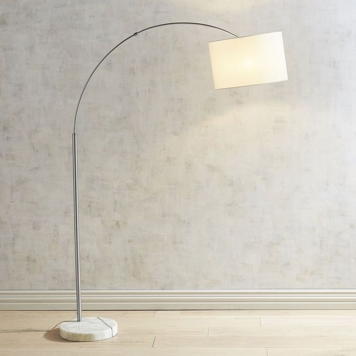 Pier 1 imports marble base arc floor lamp