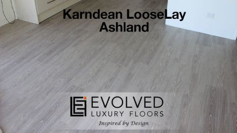 Evolved Luxury Floors gallery installations, loose lay Ashland Karndean Gallery   ELF