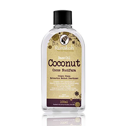 Coconut Oil - 100ml - Cold Pressed Oil- Skin Moisturiser- Hair Oil - http://best-anti-aging-products.co.uk/product/coconut-oil-100ml-cold-pressed-oil-skin-moisturiser-hair-oil/