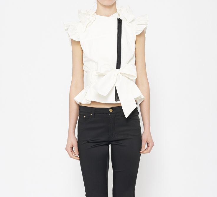 Thomas Wylde White And Black Top