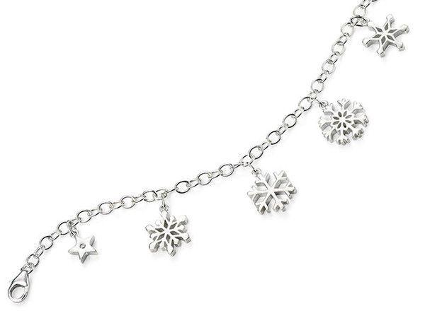 D for Diamond Silver Bracelet - Frozen