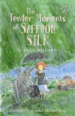 The Tender Moments of Saffron SilkBy: Glenda Millard, Stephen Michael King (Illustrator) http://www.booktopia.com.au/the-tender-moments-of-saffron-silk-glenda-millard/prod9780733329838.html