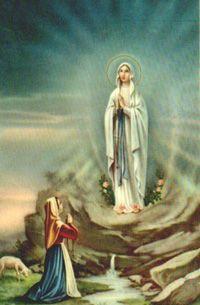 Sf. Fecioară Maria de la Lourdes * > Calendar Romano-Catolic