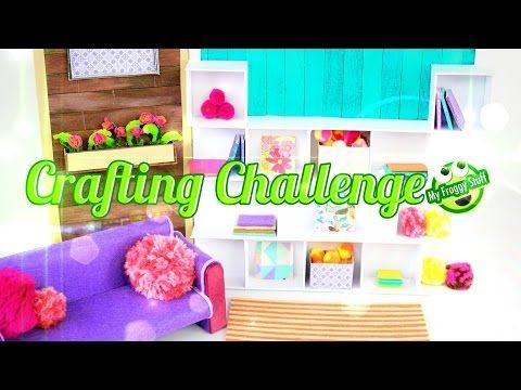 Eeboo Craft Challenge How To Make A Doll Room Doll Crafts Youtube Doll Stuff Barbie