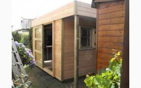 Exemples et modèles de garages et garages double en bois | Menuiserie de l'Ouest