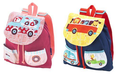 Primera mochila para niños