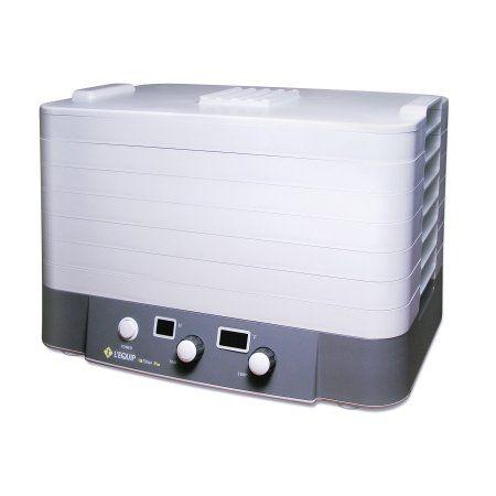 LEquip FilterPro Food Dehydrator, Gray