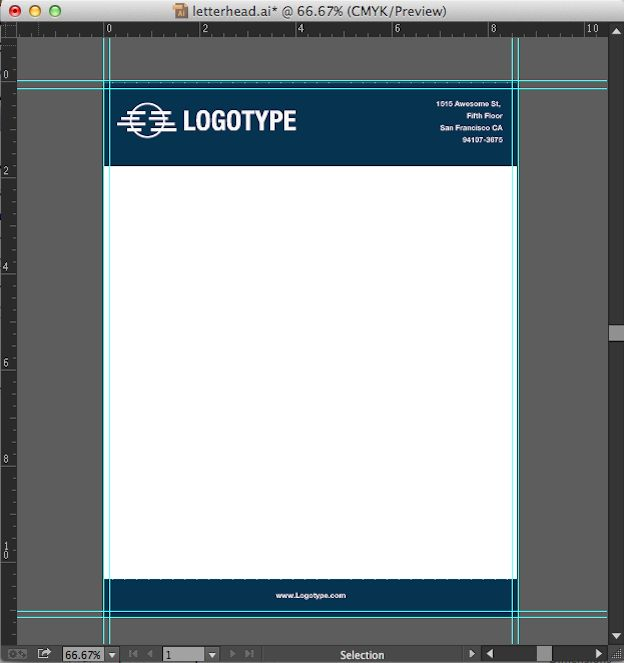 How to make a letterhead in Adobe InDesign/Photoshop/Illustrator to import into an editable Microsoft Word template