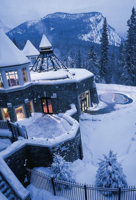 Fairmont Banff Springs, Banff, Canada