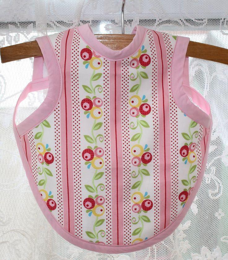 Free+Bib+Apron+Pattern | Thimbles, Bobbins, Paper and Ink: Baby bib + apron = Bapron