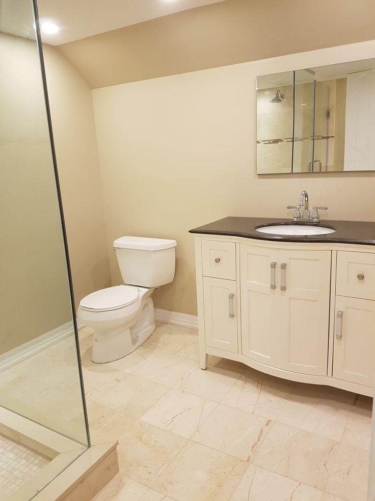 Basement washroom I built